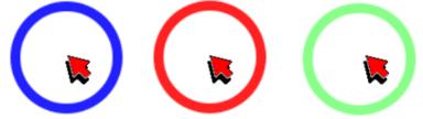 Mousetrack : aide à la localisation du curseur