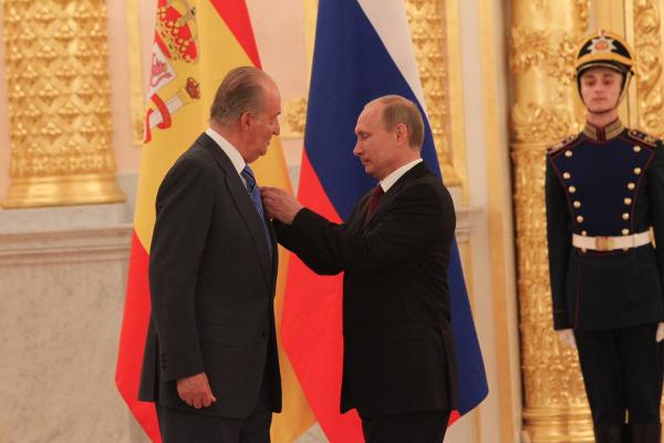 Juan Carlos et Vladimir