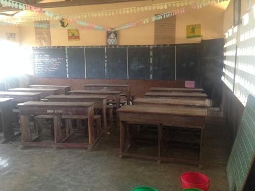 Une école béninoise
