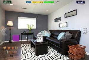 Jouer à Gray living room escape