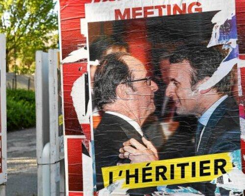 Le soutien affiché de Hollande à Emmanuel Macron en fait son héritier (LT)