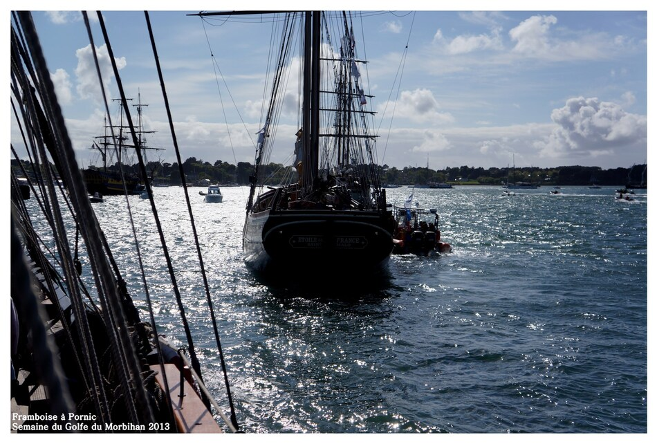 Semaine du golfe 2013 - Retour à Port blanc