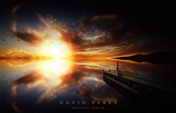 Le Dernier Coucher du soleil by David Peres