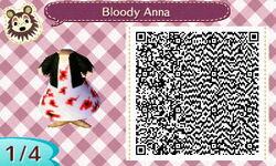 Bloody Anna dress