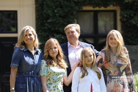 Photos d'été de la famille royale hollandaise