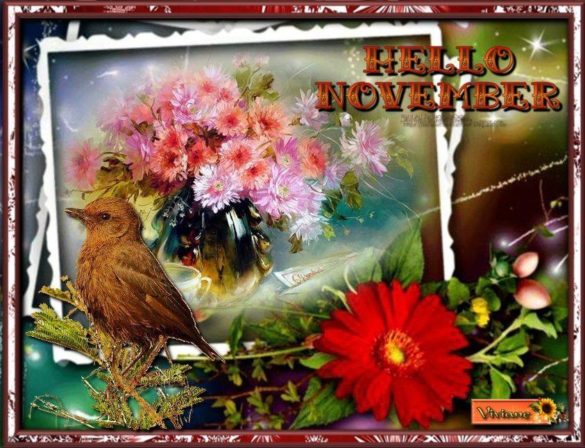 Hello November et Tombent les feuilles mortes