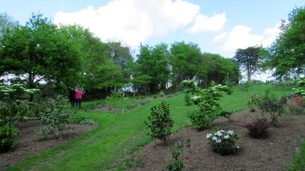 Jardin d'ailleurs: retour au jardin de Landrévarzec