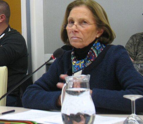 Marie-Christine Boutonnet en séance municipale à Gaillac./ Photo DDM, P.G.