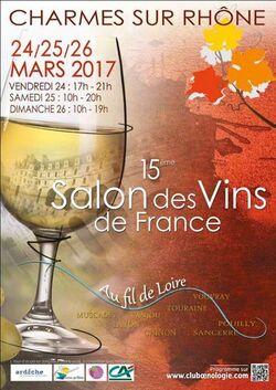 Salon des Vins de Charmes Sur Rhône 2017
