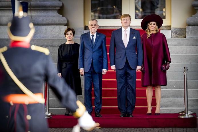 Le couple présidentiel australien aux Pays-Bas