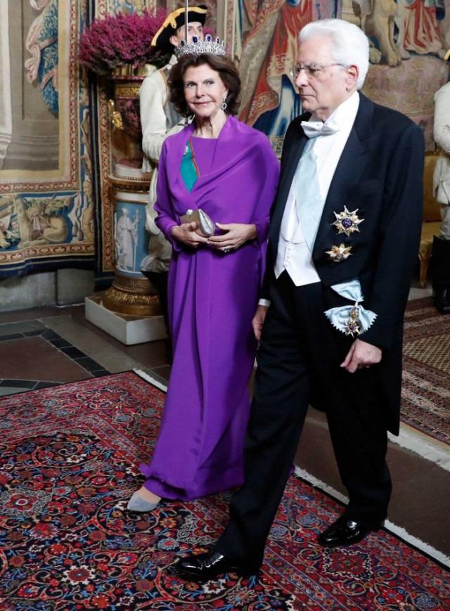 Visite présidentielle italienne en Suède - 2