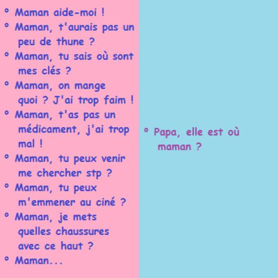 maman papa