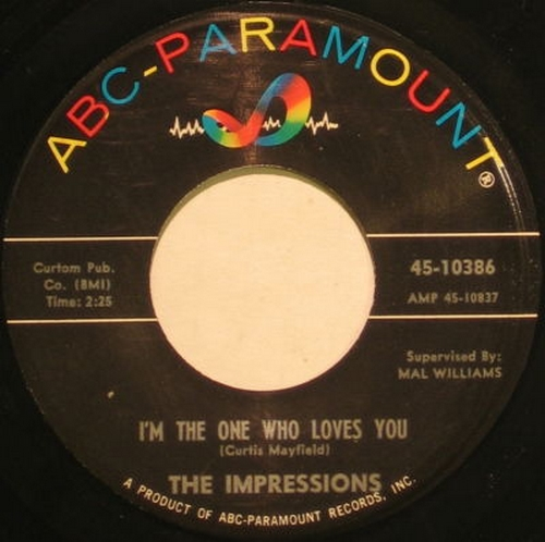 1962 : Single SP ABC Paramount Records 10386 [ US ]