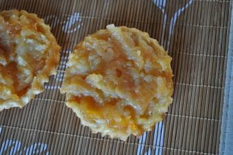 Mini tarte Tatin aux pommes