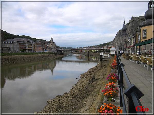**La Meuse en chômage technique et découvertes.