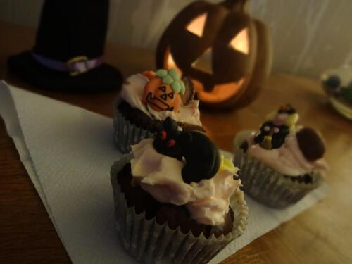 Cupcake choco tout moelleux d'Halloween