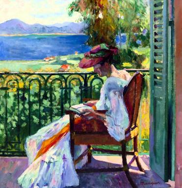 04 - Femmes lisant- Peintures 20 ème siècle jusqu'à aujourd'hui