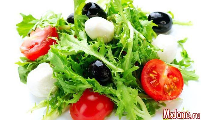 Вкусные салаты для диабетиков 1 типа