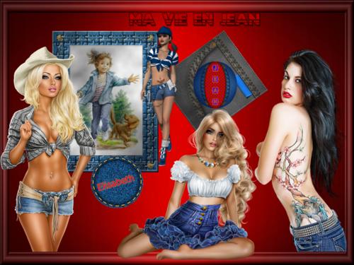 Défi couleur : Texture Jean