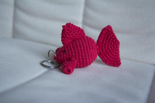 Mylène - Crochet : Amigurumi poisson porte-clé