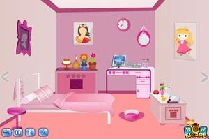 Jouer à Mini escape - Pink room