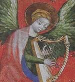 L'ange Harpiste de l'Avent...