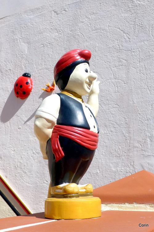 Une statue décorative