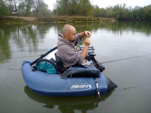 une belle journée de pêche aux sablières Maraussan