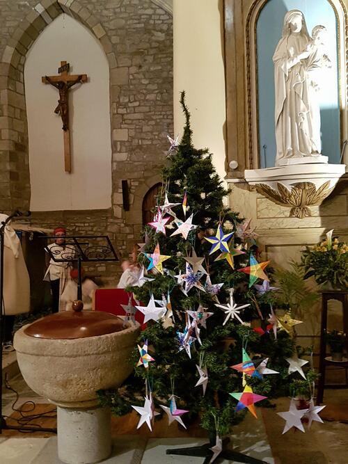 Retour en images sur le veillée de Noël