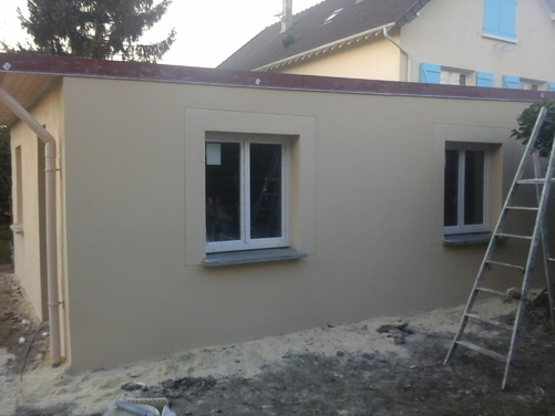 Rénovation ravalement façade
