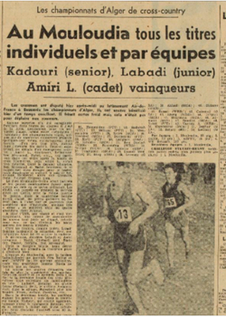 1950 Champion d'Alger