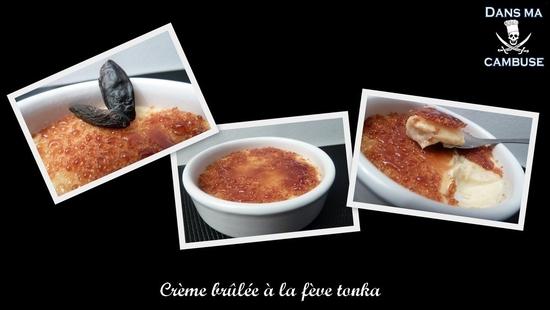 crème brulée fève tonka