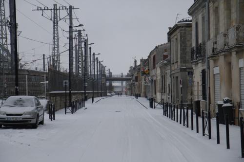 il a neiger a Bordeaux ?