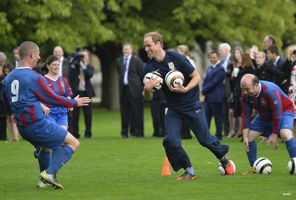 William et le foot