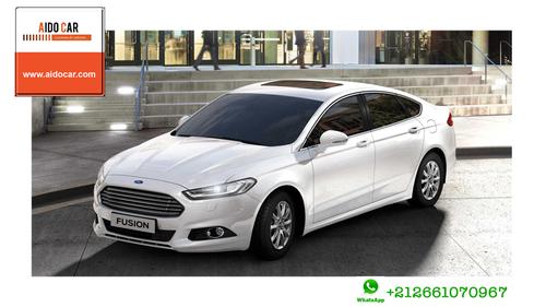 Location de voiture berline à Casablanca – Nouvelle Ford Fusion diesel Automatique