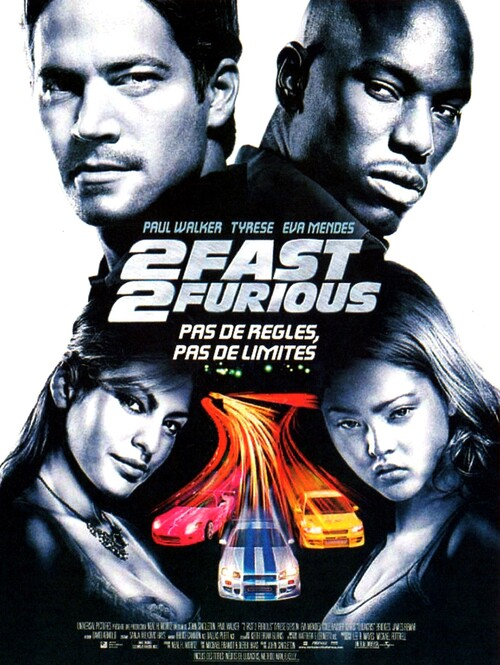 2 FAST AND FURIOUS BOX OFFICE FRANCE 2003