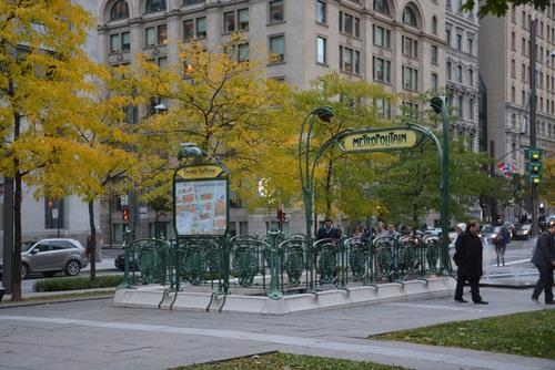 Montréal square Victoria