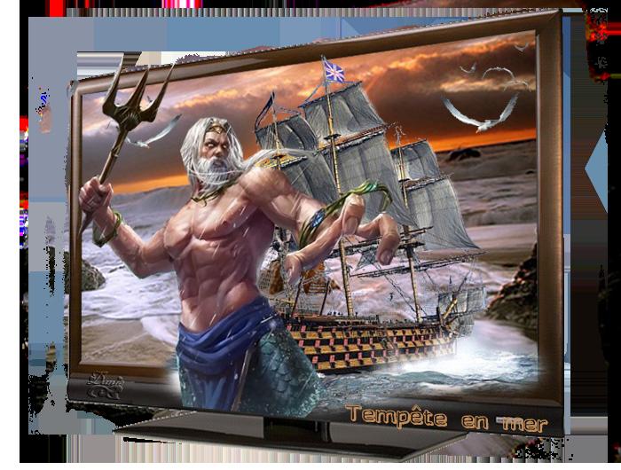 Tempête en mer ... défi Kalyona