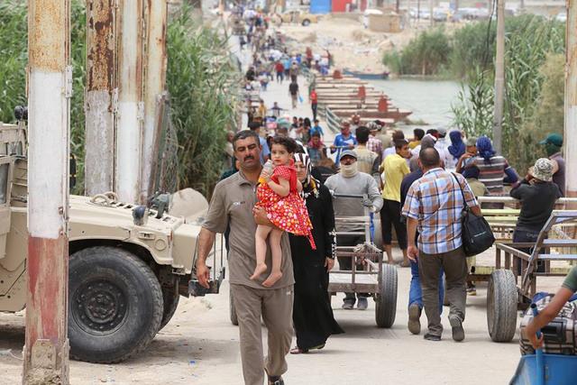 Irak : l'ONU appelle à venir en aide aux civils pris au piège par Daech