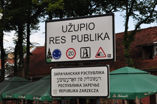 Ujupis ou la république derrière la petite rivière