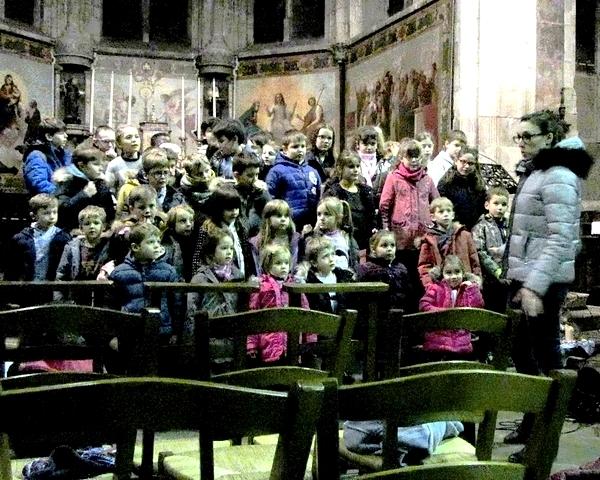Le concert de l'Epiphanie 2018 de l'école Saint-Bernard