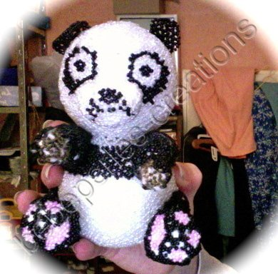voici mon panda un peu en colere