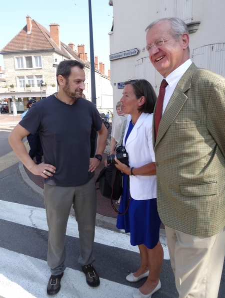 Le Maréchal Joffre a été  à l'honneur le 6 septembre 2014, dans la ville de Châtillon sur Seine....