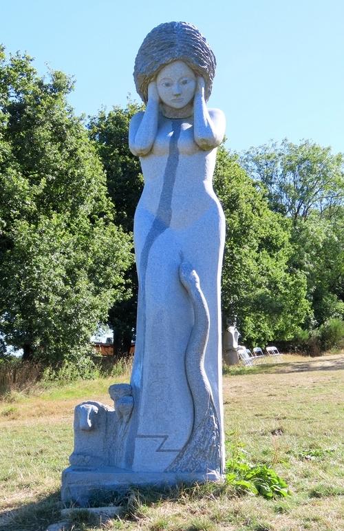 la vallée des Saints - Carnoët