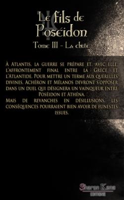 Chronique du roman {Le fils de Poséidon - Tome 3 - La chute}