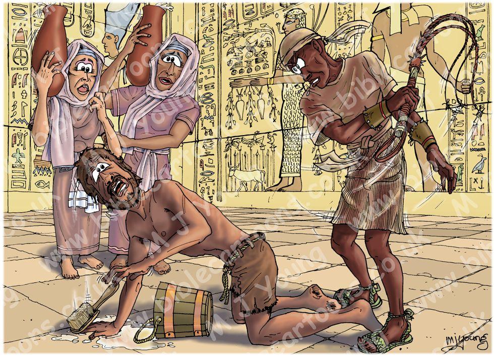 Exodus 02 - Moses murders - Scene 01 - Egyptian slave master