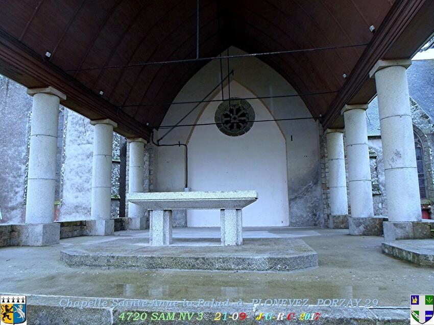 Chapelle  Sainte  ANNE  la  Palud  2/4  PLONEVEZ  PORZAY   29       D  13/03/2019