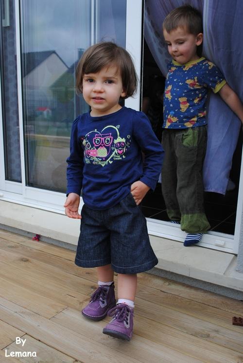 La jupe qui voulait être un pantalon...