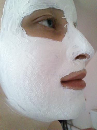 *Essai* Masque éclat tonifiant à l'argile blanche Laino