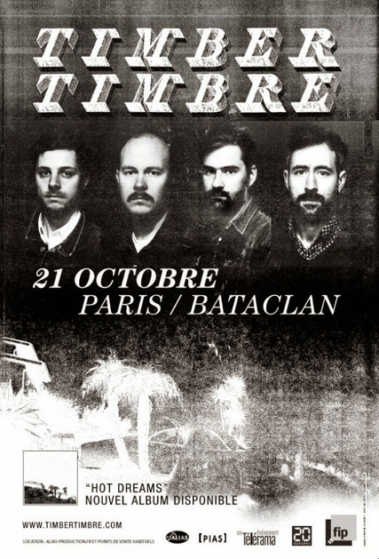 Live: Timber Timbre - Bataclan - 21 Octobre 2014